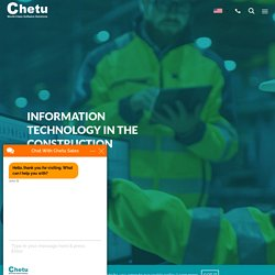 Information Technology in the Construction Industry