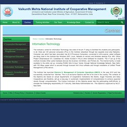 Vaikunth Mehta National Institute of Cooperative Management