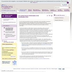 Les centres locaux d'information et de coordination (Clic)