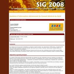 Système d'information décisionnel du Conseil Général du Gard