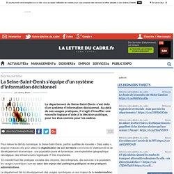 La Seine-Saint-Denis s'équipe d'un système d'information décisionnel