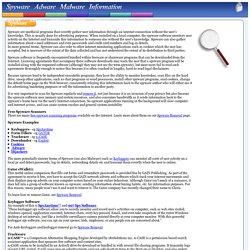 Spyware Software, Information, Definition Examples