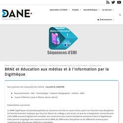 BRNE et éducation aux médias et à l'information par la Digithèque