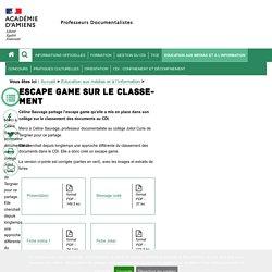Education aux médias et à l'information > Escape game sur le classement