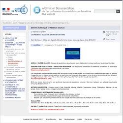 Identité numérique et réseaux sociaux - Information Documentation