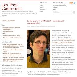 La DGESCO et la DNE contre l'information-documentation