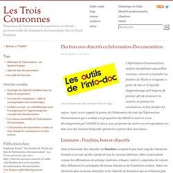 Des buts aux objectifs en Information-Documentation