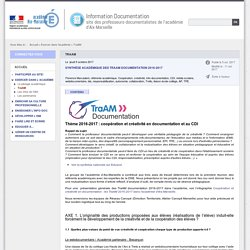 TraAM - Information Documentation