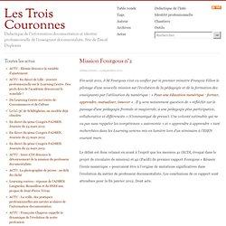 - Les Trois Couronnes - Didactique de l'Information Documentation