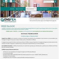Information Documentation ENSFEA » MOOC Doc & SIC