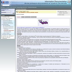 Production d'information - Information Documentation