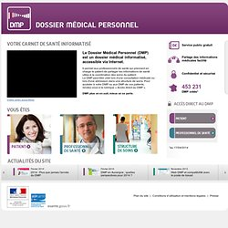 French EHR - DMP