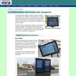 Dossier : L'information dynamique des voyageurs