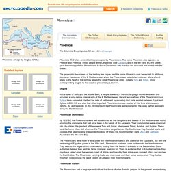 Phoenicia Facts, information, pictures