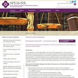 Service public d'éducation et d'information juridiques du Nouveau-Brunswick
