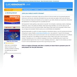 Work Aboard - News Information & Advice - Eurograduate