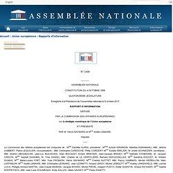 N<sup><small>o</small></sup>1409 - Rapport d'information de Mme Axelle Lemaire et M. Hervé Gaymard déposé par la commission des affaires européennes sur la stratégie numérique de l'Union européenne