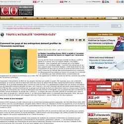 Economie numérique - Contexte du marché des systèmes d'information - CIO-Online - chiffres-clés, externalisation