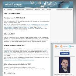 TRSI Formula - Information - FibMaster's Fibonacci Trading