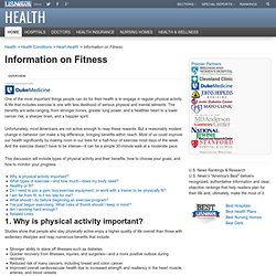 The Basics on Fitness - US News Health