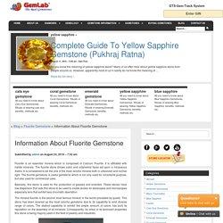Information About Fluorite Gemstone