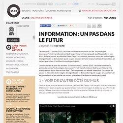 Information : un pas dans le futur