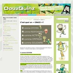 C'est quoi un «CRACS»? – douzquinz.be, guide d'information généraliste destiné aux jeunes de 12 à 15 ans en Communauté française de Belgique