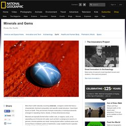 National Geographic: Minerals, Gems Information