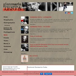 Information - Gianmaria Testa official web site