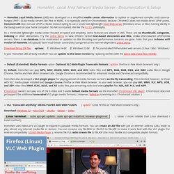 HomeNet - LAN Media Server Information and Setup - from Gooplusplus.com - Bob Carroll, Las Vegas