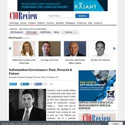 Information Governance: Past, Present & Future