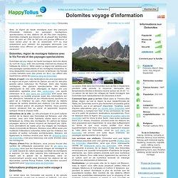 Dolomites voyage d'information - HappyTellus.com