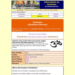 Information on Hinduism for Kids