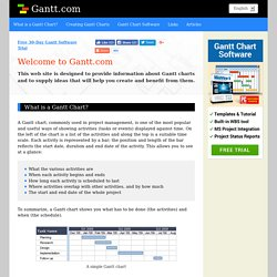 What is a Gantt Chart? Gantt Chart Information, history and Software