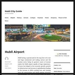 Hubli Airport Information
