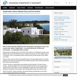 Information about the private island of Espalmador near IbizaSpanish Property Insight