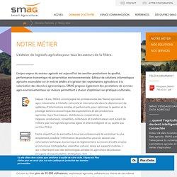 SMAG - Edition de système d'information pour les filières agro-industrielles