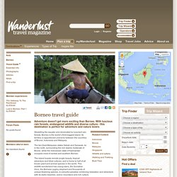 Travel to Borneo - information, advice and inspiration