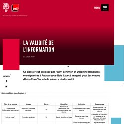 La validité de l'information - Interclass'Up