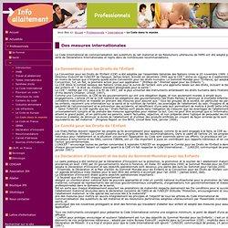 IPA Information pour l'Allaitement - Des mesures internationales