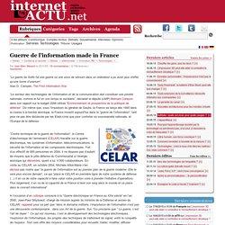 Guerre de l'information made in France