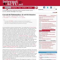 L'avenir de l'information : le web de données