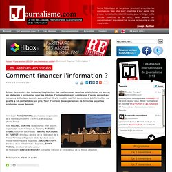 Comment financer l'information ?