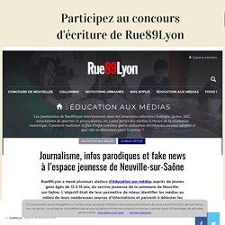 Information, métier de journaliste et fake news à Neuville-sur-Saône