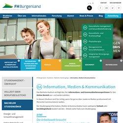 FH Burgenland - BA Information, Medien & Kommunikation