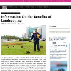 Benefits of Landscaping - Melaleuca Landscapes