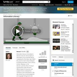Lynda.com - Information Literacy