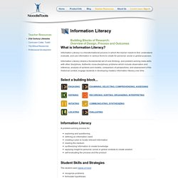 Information Literacy: Building Blocks of Research: Overview