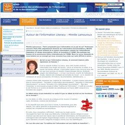 Autour de l'Information Literacy : Mireille Lamouroux