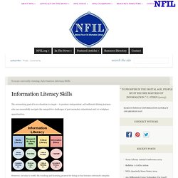 National Forum on Information Literacy